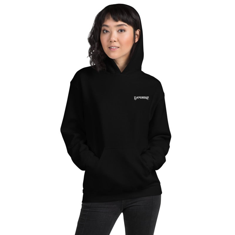 Image of THE ESSENTIAL BLACK HOODIE