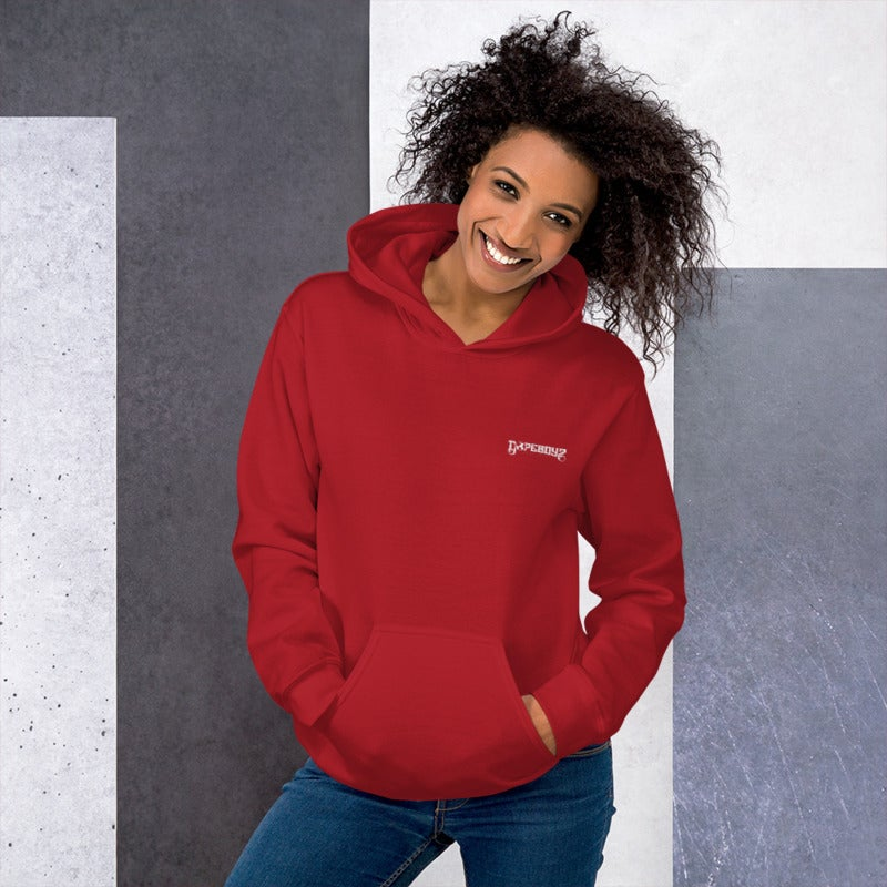 Image of THE ESSENTIAL RED HOODIE