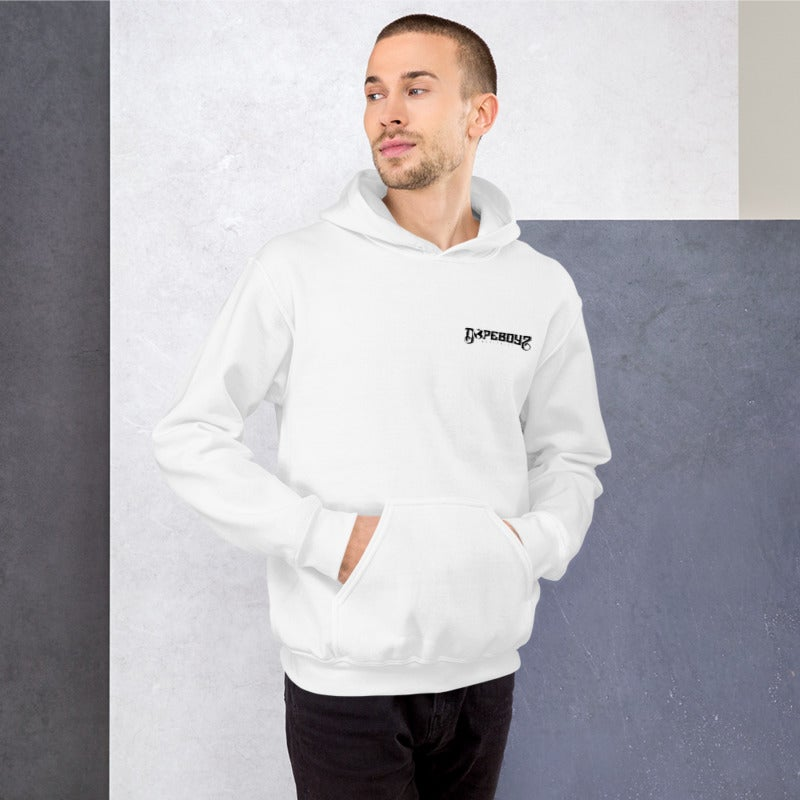 Image of THE ESSENTIAL WHITE HOODIE