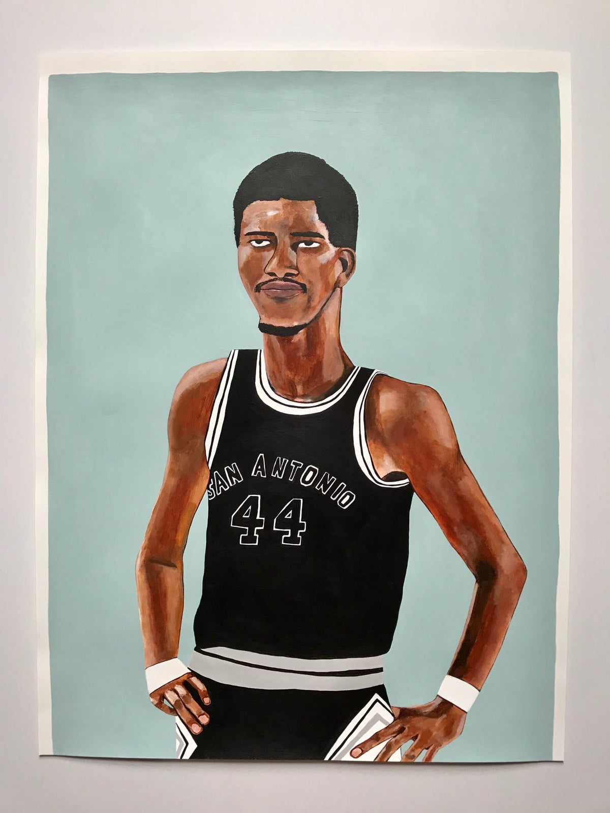 "Image of George Gervin ""The Iceman"", San Antonio SPURS #44"