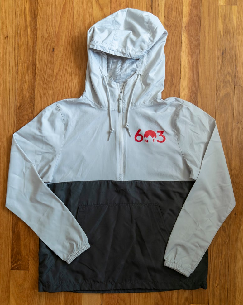 Image of 603 windbreaker - grey