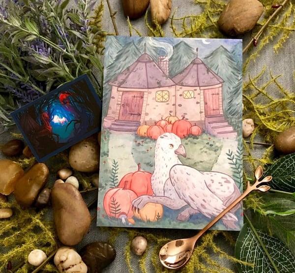 Image of Add on: Hagrid's Hut Print