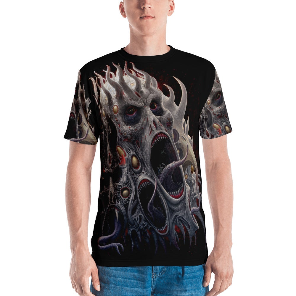 Image of Malicious Entities all over print shirt by Mark Cooper Art