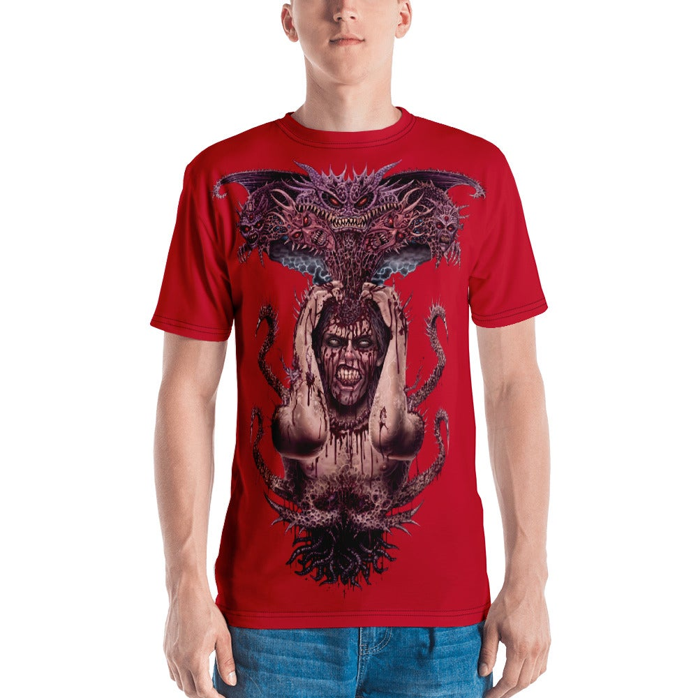 Demon Spawn all over print shirt by Mark Cooper Art