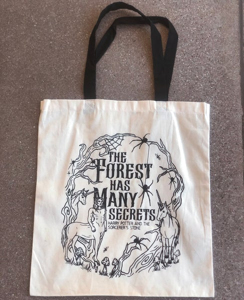 Image of Add on: The Forbidden Forest Tote Bag