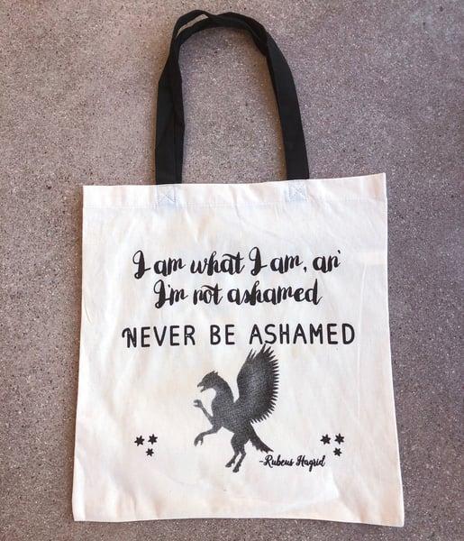 Image of Add on: Never Be Ashamed Tote Bag