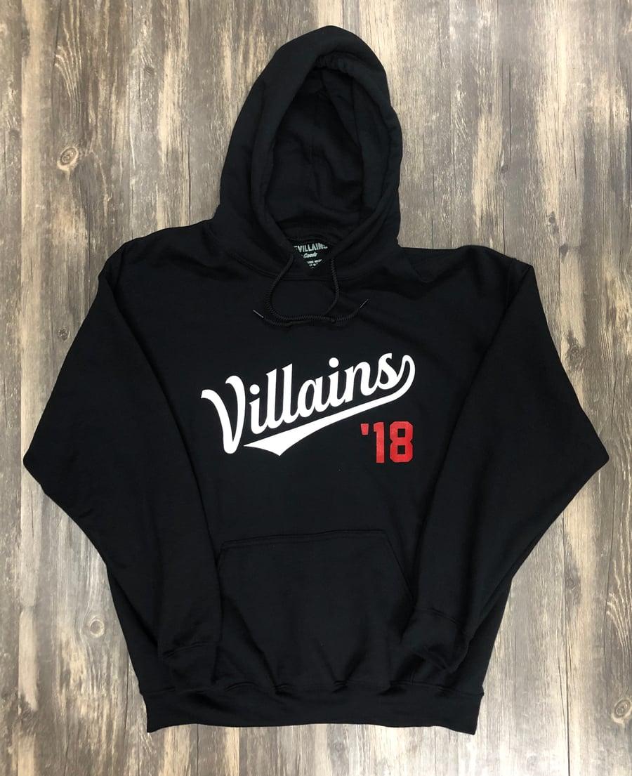 Image of Villains '18 hoodie