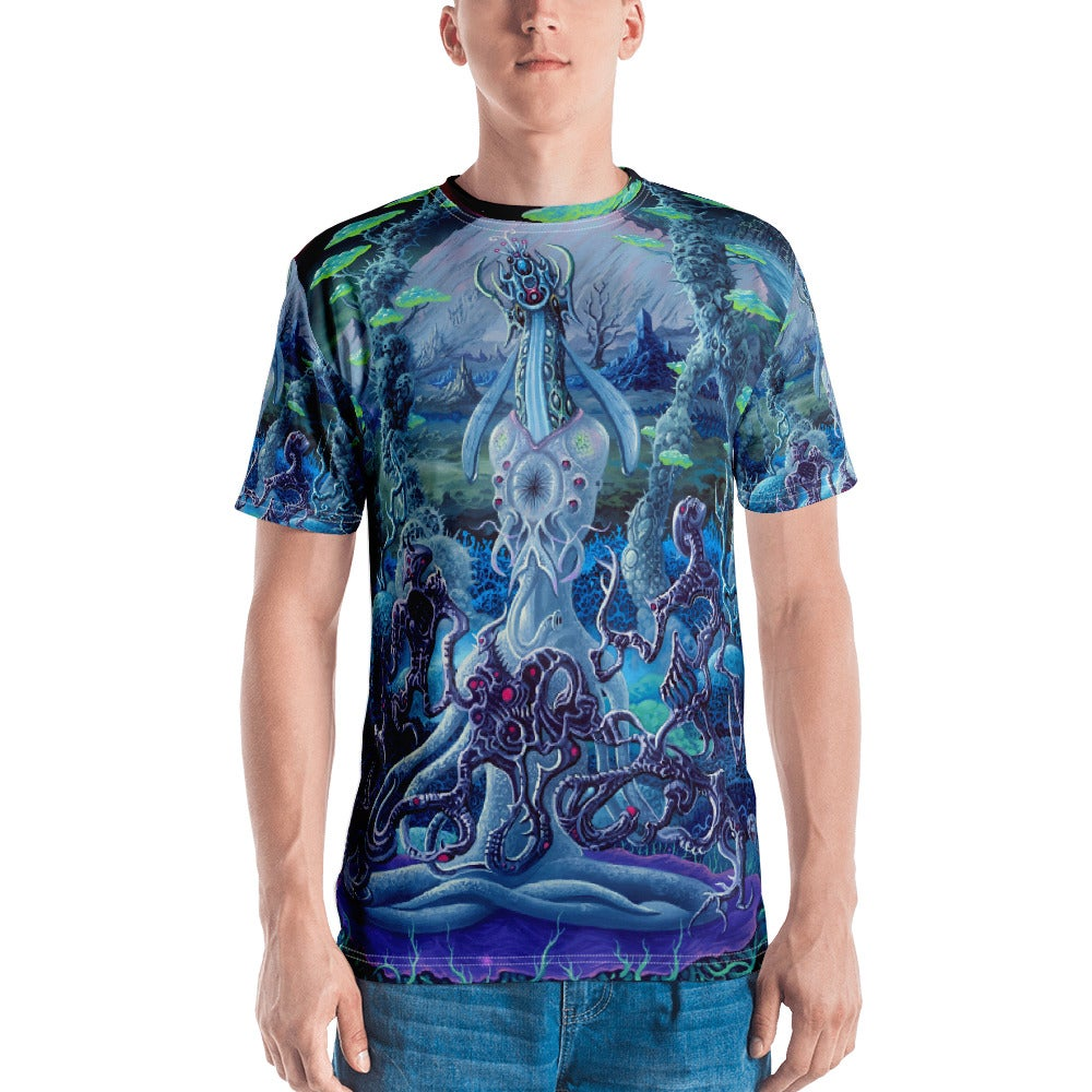 Image of Hypnogogic Guise All Over Print shirt by Mark Cooper Art
