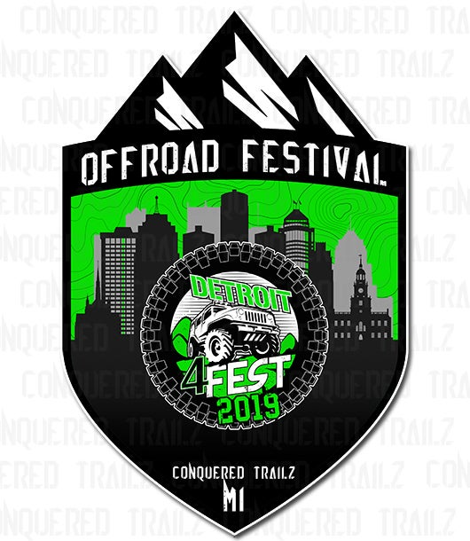 Image of Detroit 4 Fest 2019 - Event Badge