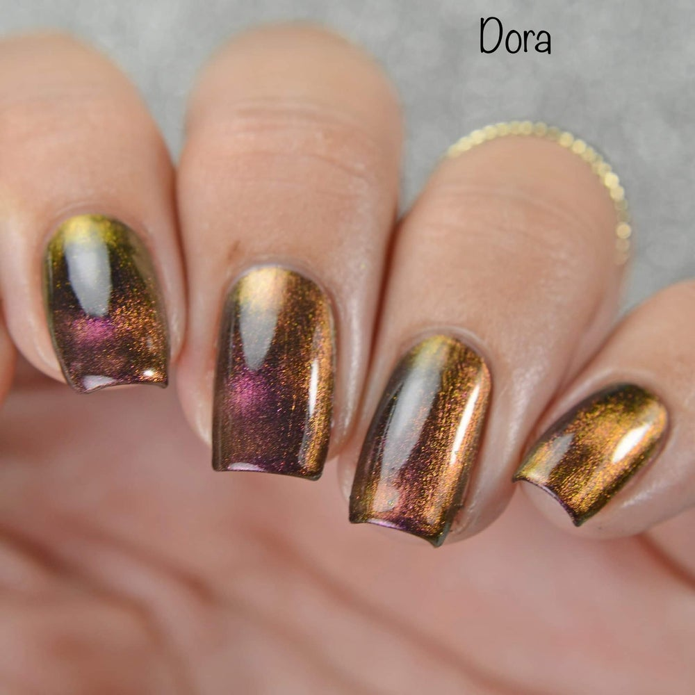 Image of Dora - magnetic ultra chameleon moves from pink to bronze/orange