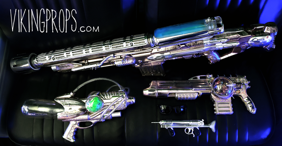 Image of Shiny Space Guns