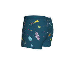 Image of Cartoon Bacteria Boyshorts