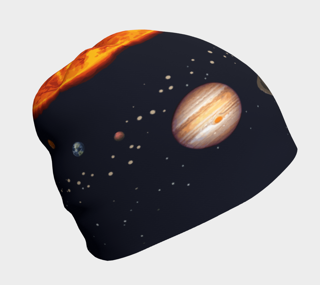 Image of Solar System Beanie Hat