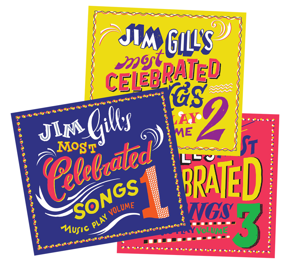 Image of Jim Gill's Most Celebrated Songs: Music Play Volumes 1, 2, and 3 (CDs)