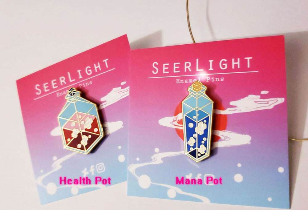 Image of Potions Enamel Pin Series