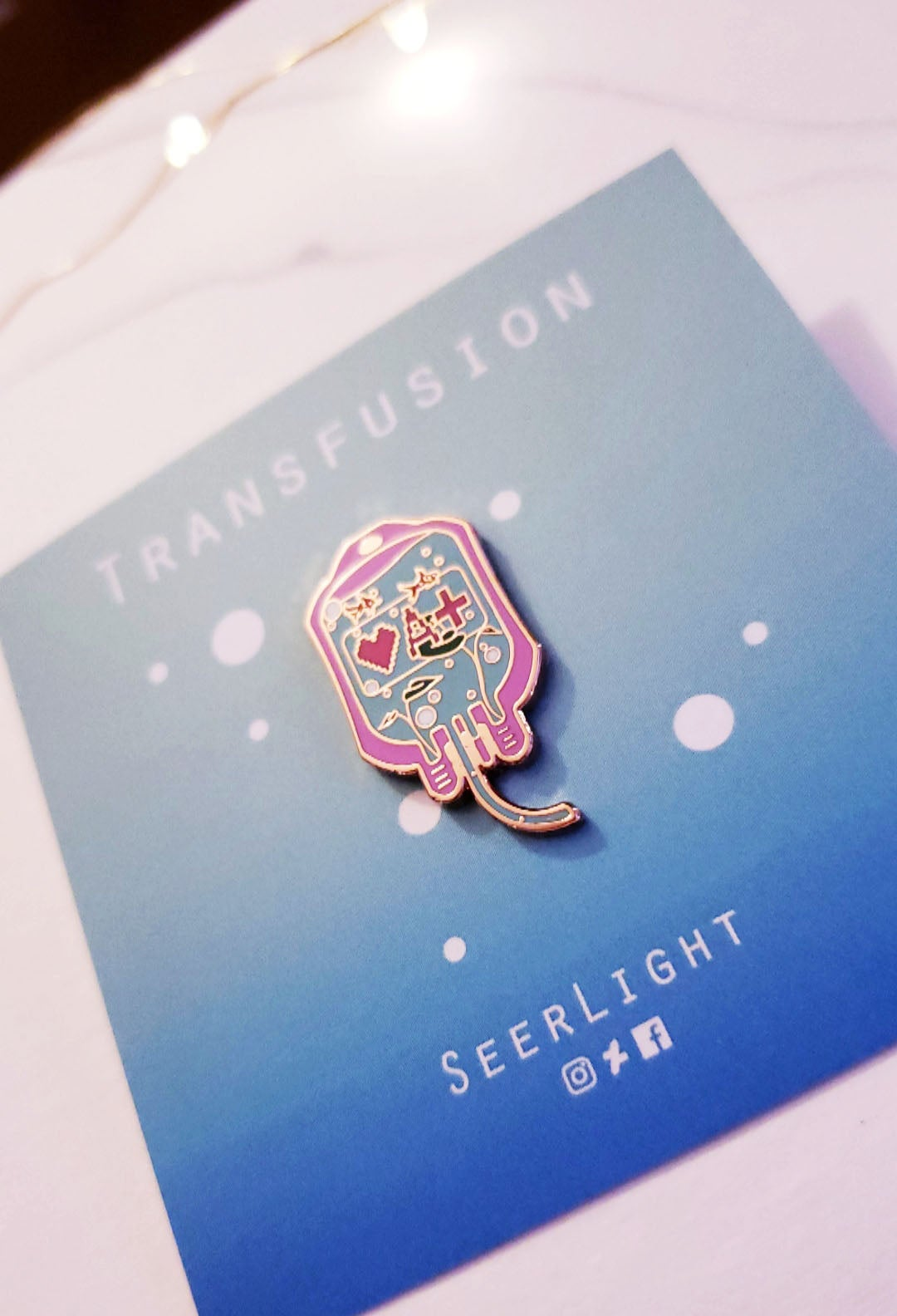 Image of Medication Enamel Pin Series