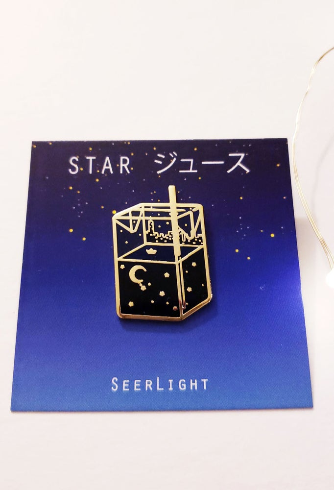 Image of Star Juusu Enamel Pin