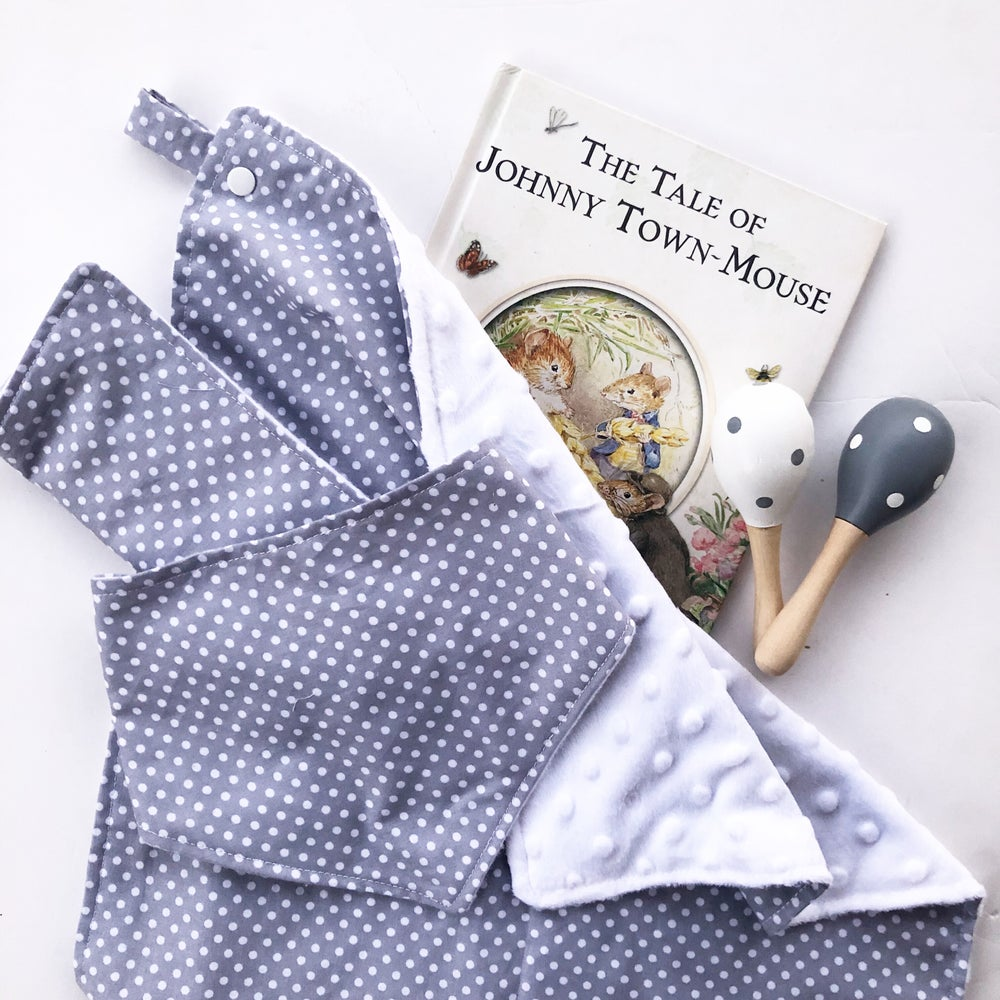 Image of GREY + WHITE Spots - Baby Gift Set