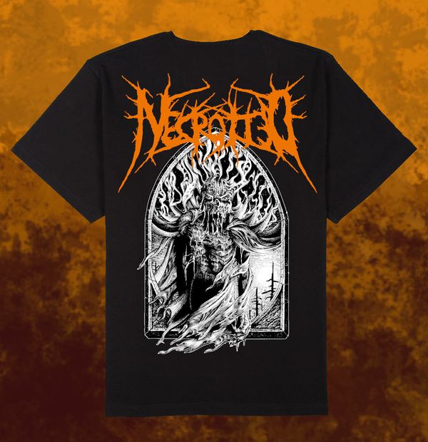 Image of NECROTTED - Devil T-Shirt + CD [pre-order]
