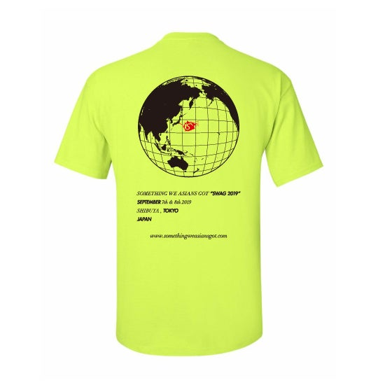 Image of SWAG TEE 19 (NEON YELLOW)