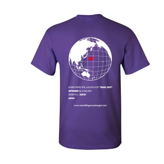Image of SWAG TEE 19 (PURPLE)