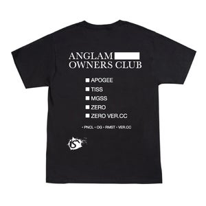 Image of ANGLAM OWNERS CLUB TEE (BLACK)