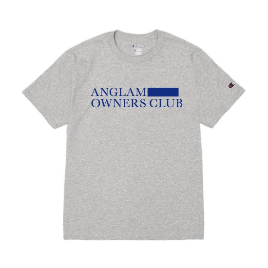 Image of ANGLAM OWNERS CLUB TEE (GREY)