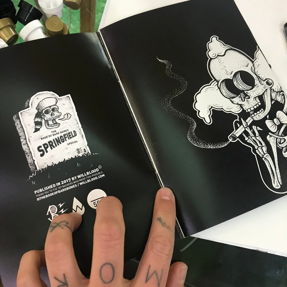 Image of The Book Of Bare Bones Springfield Special
