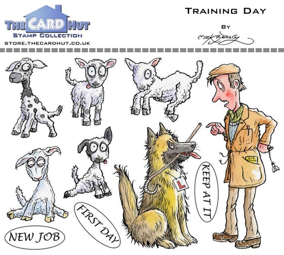 Image of Training Day - Stamp Set
