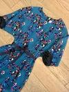 Robe Bouquet Bleue