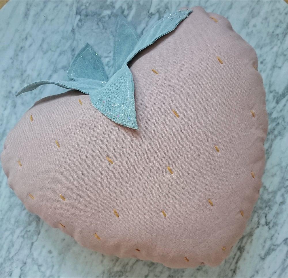 Image of Strawberry cushion