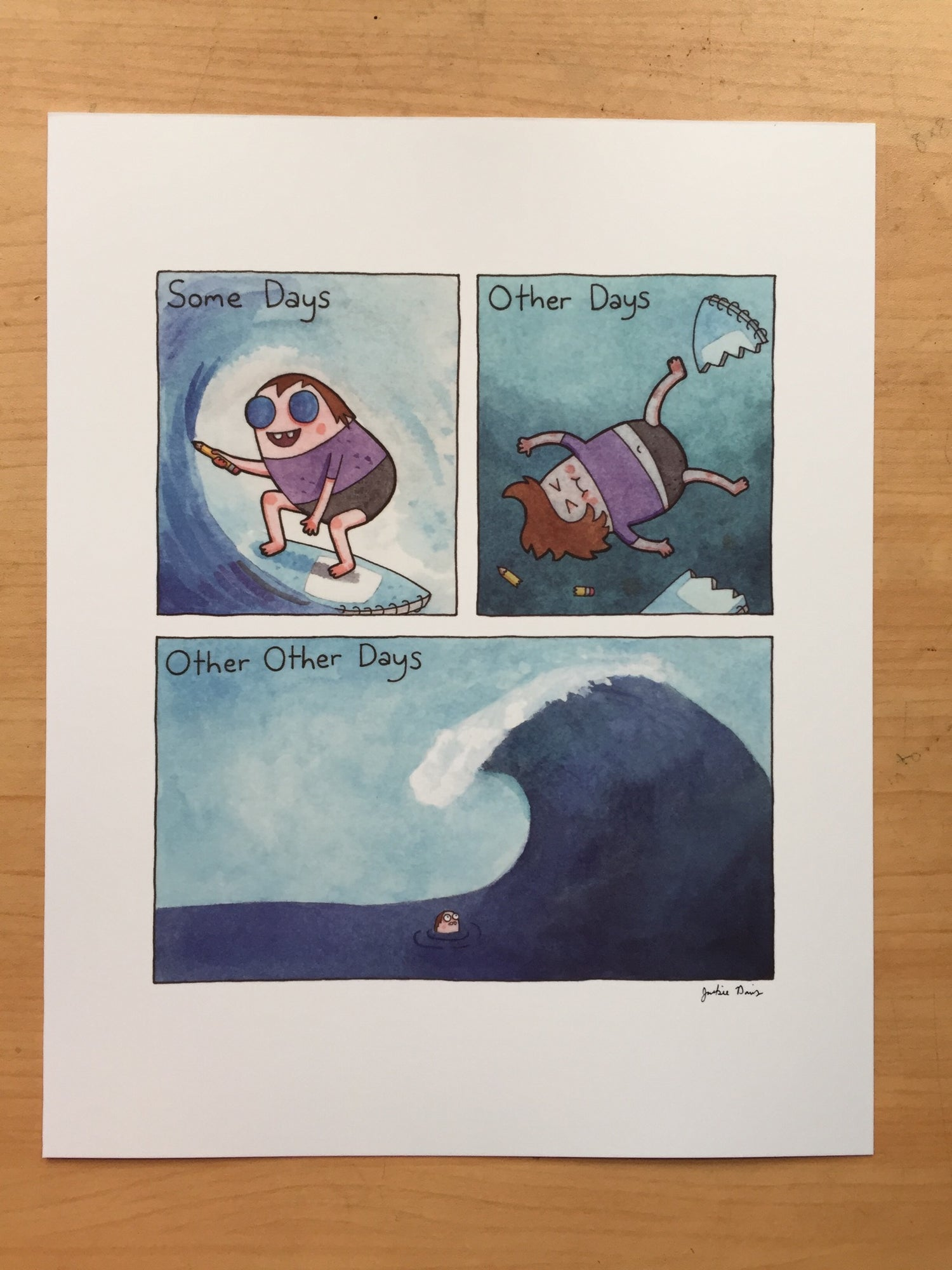 """Image of """"Other Other Days"""" Print"""