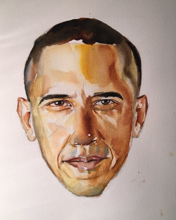 Image of Barack Obama - Print