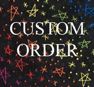 Image of Custom Embroidered Hoop Art