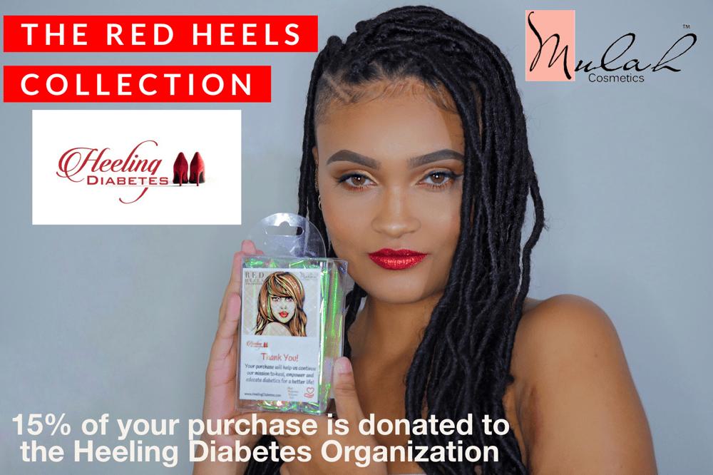 Red Heels Collection - Heeling Diabetes Campaign