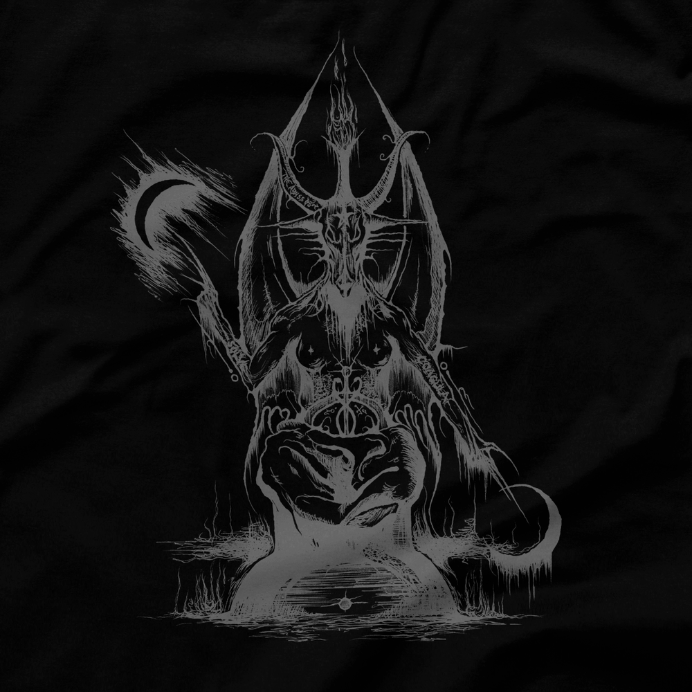 Image of BAPHOMET I - EQUITANT 1992 (GREY PRINT - WOMAN'S TANK TOP)