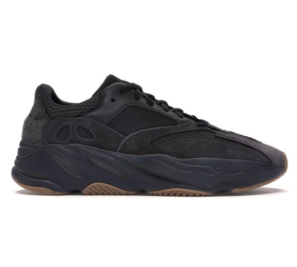 Image of Adidas Originals Yeezy Boost 700 - Utility Black - Size 9
