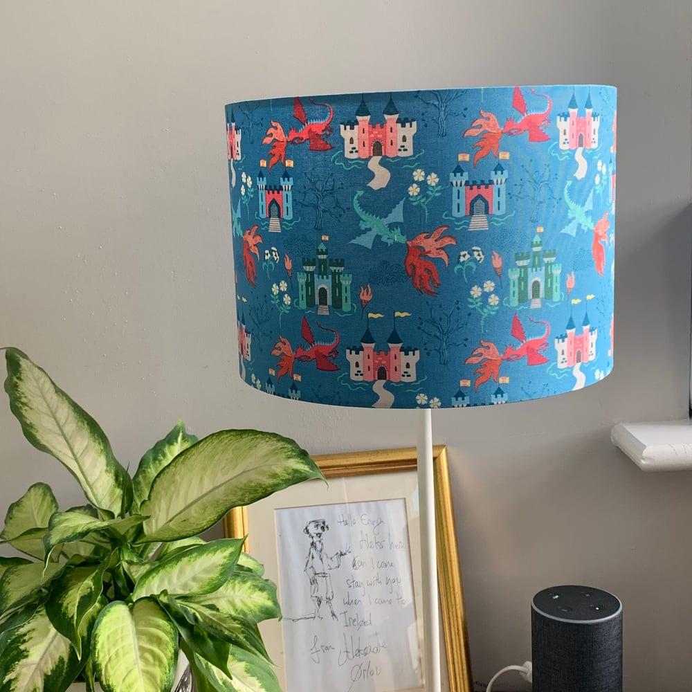 Image of Dragon Castle Light Blue Shade 30cm