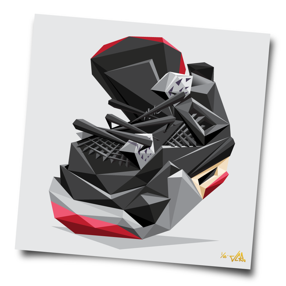 "Image of JCRo - ""Black Cement 4"" limited edition print (light)"