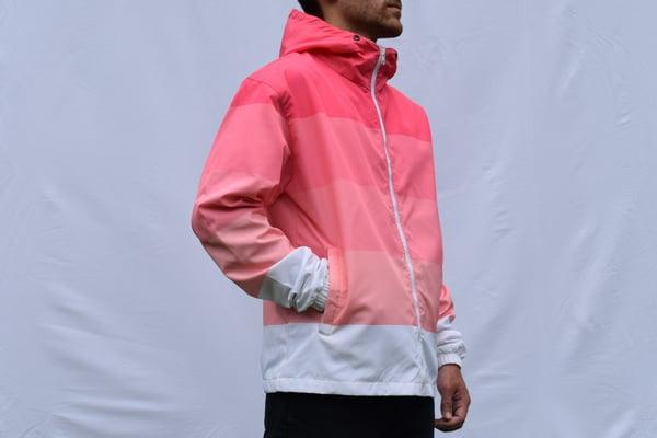 Image of Pink Gradient Windbreaker