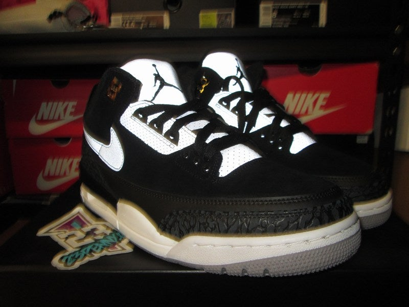"Image of Air Jordan III (3) Retro Tinker ""Black/Cement Grey"""