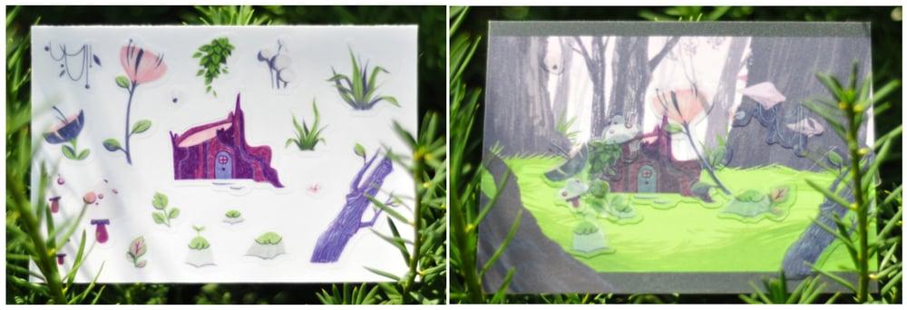 Image of Tiny Terrarium Sticker Sheet