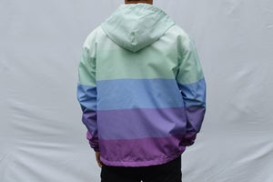 Image of Vaporwave Gradient Windbreaker