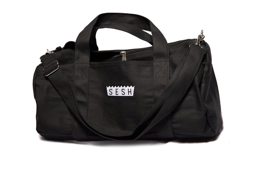 Image of Sesh Logo embroidered Duffle Bag