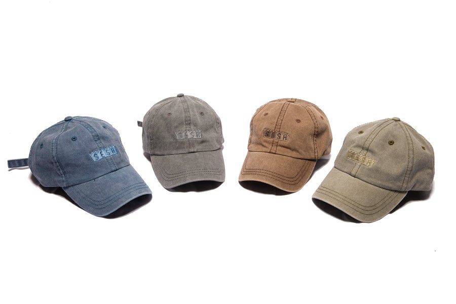 Image of Sesh logo embroidered hats