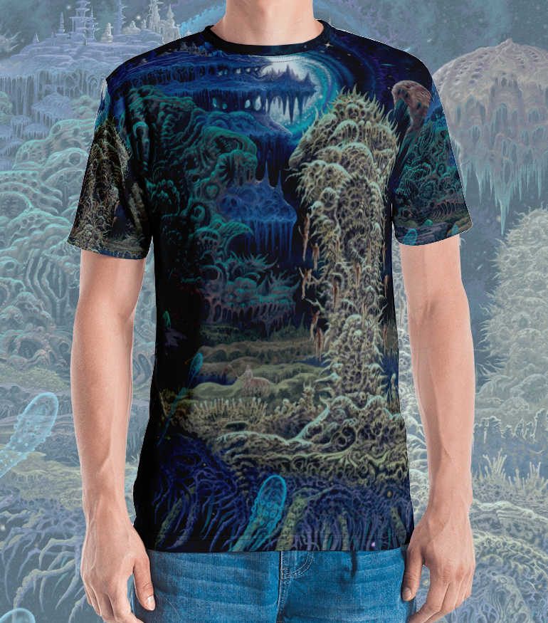 Image of Impaled Uncreation All Over Print Shirt by Mark Cooper Art