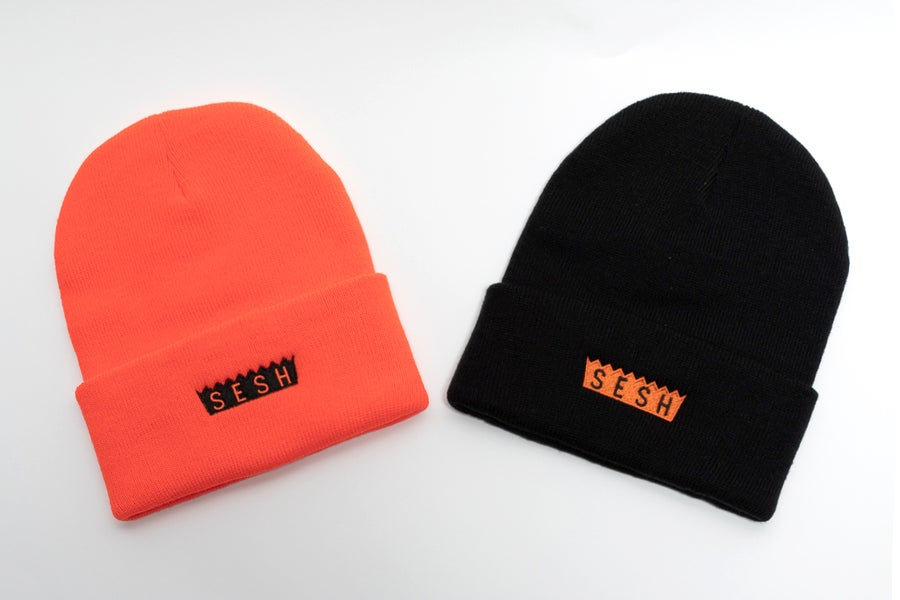 Image of Sesh embroidered Beanies