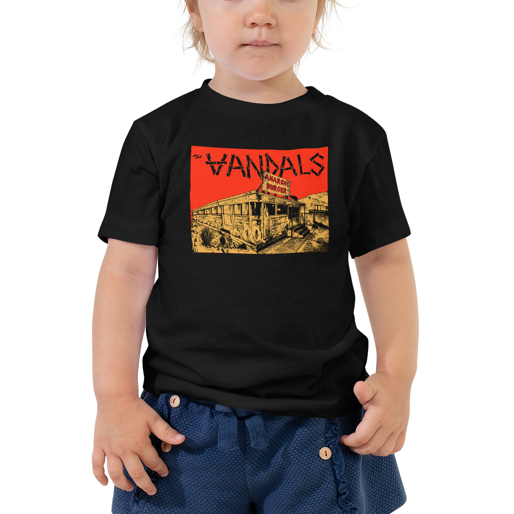Image of Toddler Anarchy Burger Diner Tee