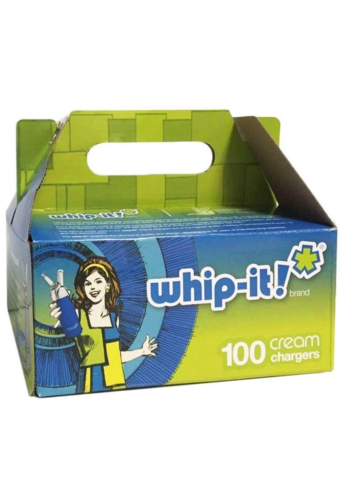 Image of Whip-it! 100 count chargers