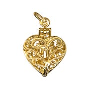 Image of Gold - Intricate Heart